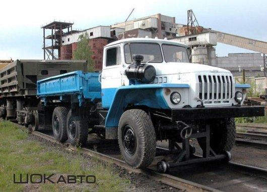 Локомобиль на базе грузовика Урал