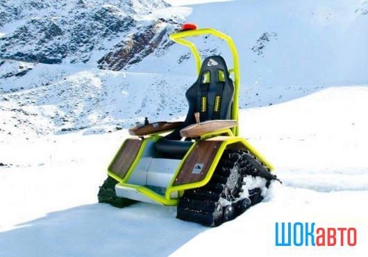 Самоходная гусеничная коляска-снегоход Ziesel