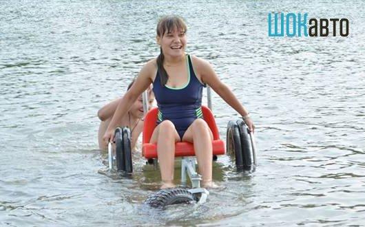 Инвалидная коляска-амфибия