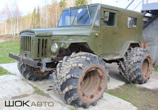 Внедорожник на базе ГАЗ-3768