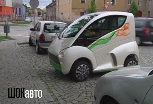 Чешкий автомобиль для инвалидов Elbee