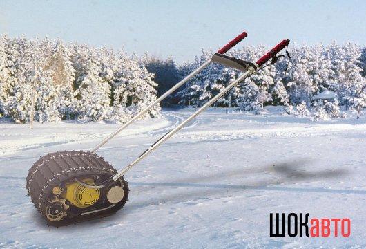 Мототолкатель лыжника Снегирь