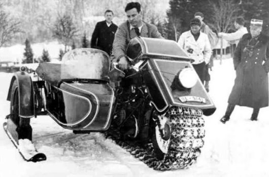 Гусеничный мотоцикл BMW Speziel TR-500