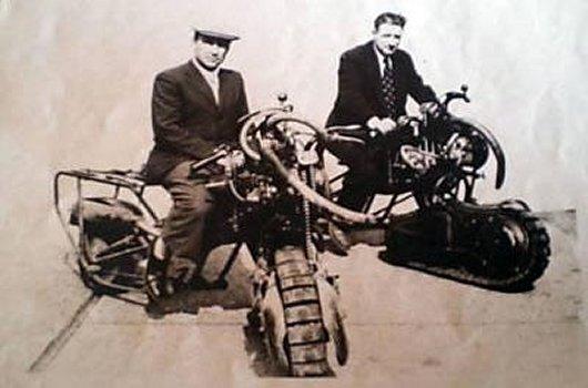 Мотоциклы Motochenille Mercier