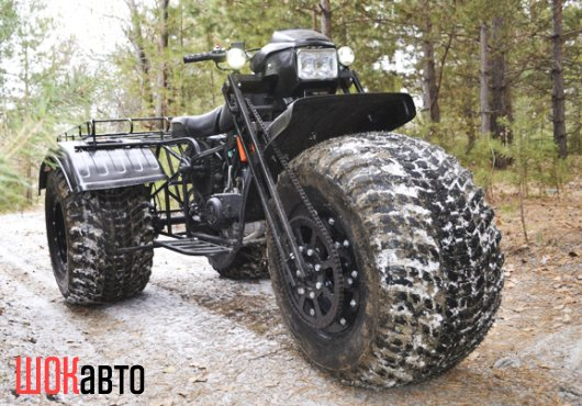 Полноприводный трицикл-снегоход Васюган  3WD