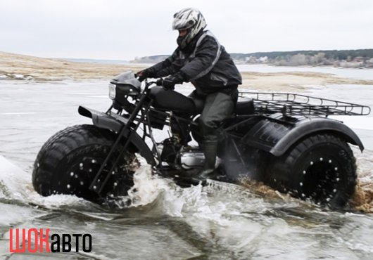 Трёхколёсный мотоцикл-снегоболотоход Васюган 3×3