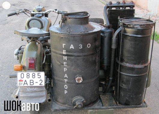 газогенераторная полуторка фото