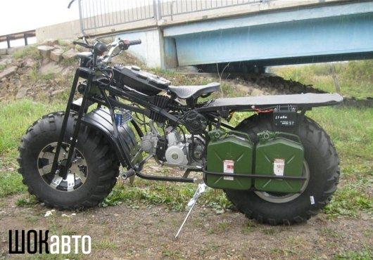 Полноприводный мотоцикл-вездеход Васюган 2WD