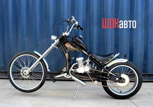 Велосипед с мотором Chopper-Bike ST-22