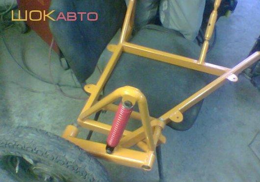 Как своими руками сделать коляску для скутера
