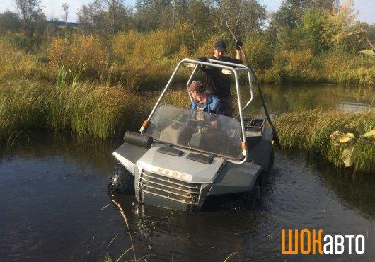 Плавающий болотоход Вепс