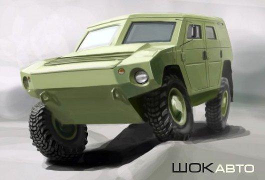 Концепт военного автомобиля для армии