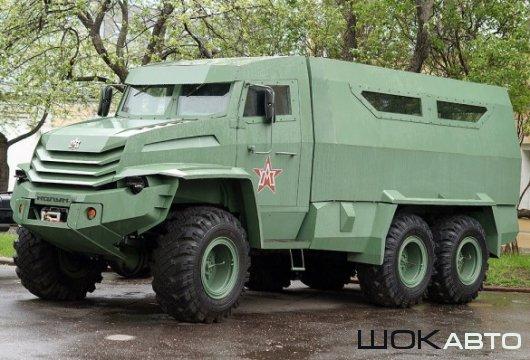 Боевая машина «Колун» 6×6