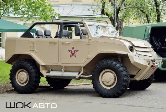 Многоцелевой бронеавтомобиль «Торос» 4×4