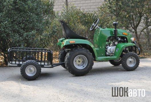 Садовый мини-трактор Шмель СТ1 из Китая
