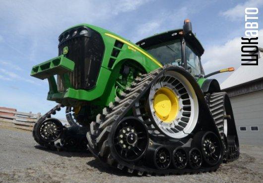 Гусеницы для трактора и комбайна