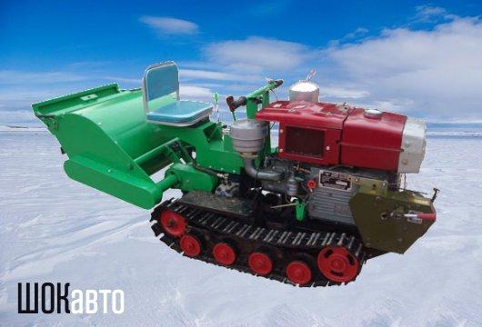 Гусеничный минитрактор Земляк С1100