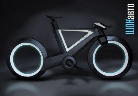 Безосевой умный велосипед Циклотрон