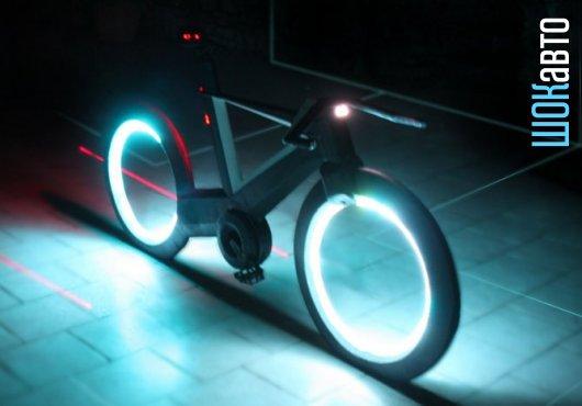 Безосевой умный велосипед Cyclotron