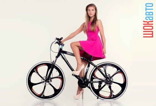 Немецкий горный велосипед BMW X1 с алюминиевой рамой