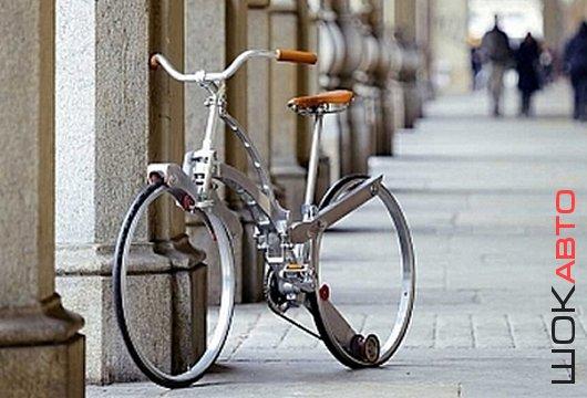 Итальянский велосипед Sada Collapsible Bike