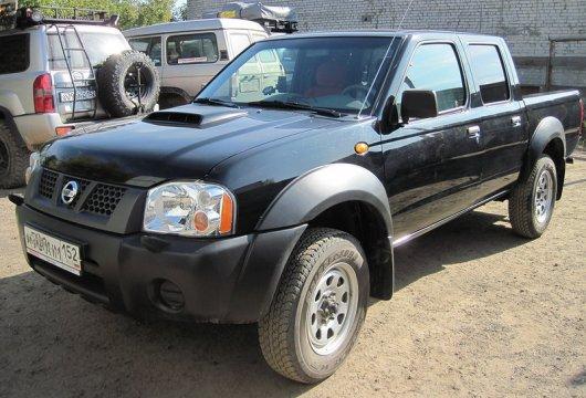 Nissan с защитным покрытием Raptor